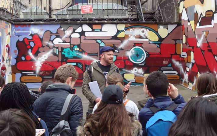 Exploring Bristol Street Art